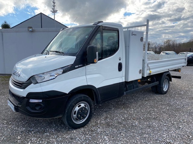 IVECO Iveco Daily Ccb 35C14 EMPT 3750 MM BENNE 3 PLACES + COFFRE